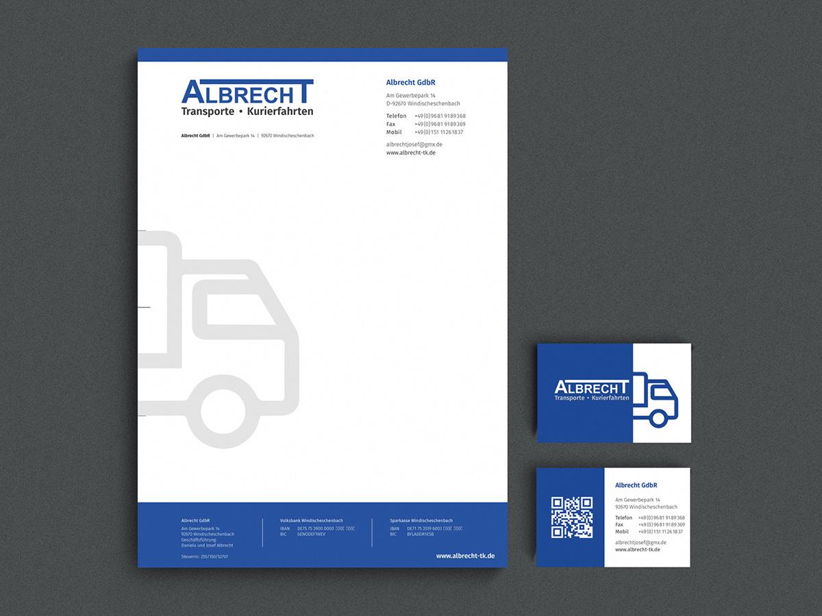 TONI Design Briefpapier - Kurier Albrecht