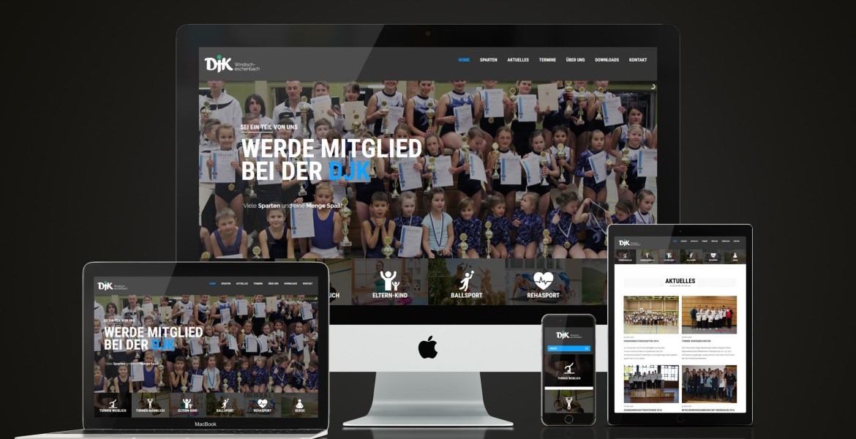 TONI Design Website - DJK Windischeschenbach