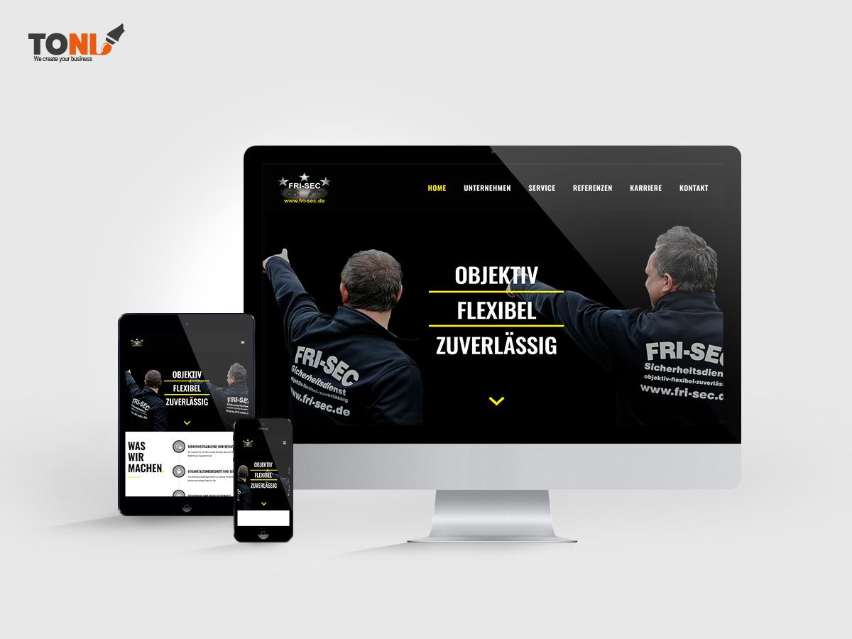 TONI Design - Referenz Fri-Sec